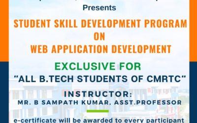 "SDP on ""Web Application Development"""
