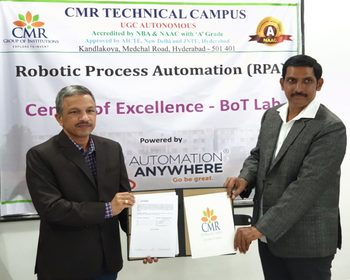 MoU with Automation Anywhere University