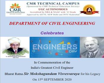 53-Engineers Day – Department of CIVIL Engineering